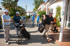 Golf el torneo en Costa del Sol, Málaga, España Fotos de archivo libres de regalías
