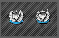 Golf emblem Royalty Free Stock Photos
