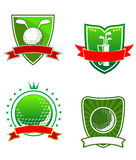 Golf emblems and symbols Stock Photo