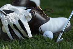 Golf a engrenagem Foto de Stock