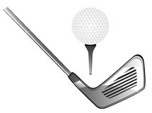 Golf equipment Stock Image