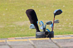 Golf equipment Stock Photography