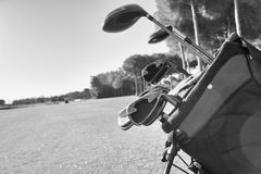 Golf equipment Stock Image