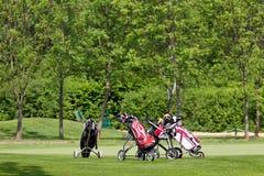 Golf equipments Stock Photo