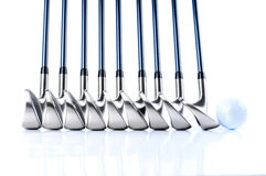 Golf Equipments Royalty Free Stock Image