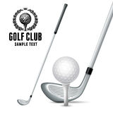 Golf Equipments Royalty Free Stock Photography