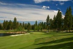 Golf et club national de Montreux Image stock