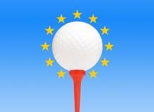 Golf europeo stock de ilustración