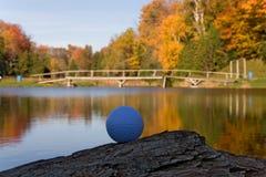 golf för 05 boll Fotografering för Bildbyråer