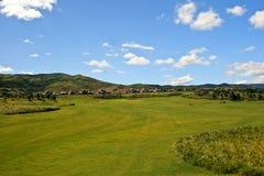 Golf-Feld lizenzfreies stockbild