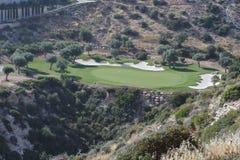 Golf-Feld in Zypern Stockbilder