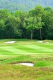 Golf field Stock Photo