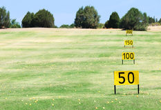 Golf field Royalty Free Stock Photos