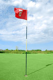 Golf field Royalty Free Stock Photo