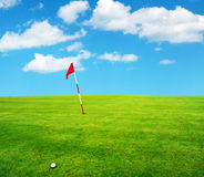 Golf field Stock Images