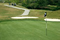 Golf field Stock Photography