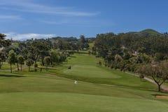 Golf field Fotografía de archivo libre de regalías