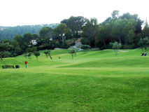 Golf field Foto de Stock