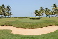 Golf field Fotografia Stock Libera da Diritti