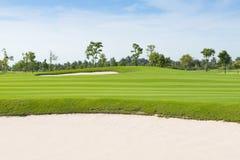 Golf field foto de archivo libre de regalías