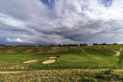 Golf field Imagen de archivo libre de regalías