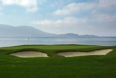 Golf field. Californian golf field and resort Royalty Free Stock Photo