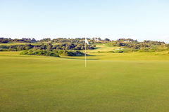 Golf field in the Algarve Portugal Royalty Free Stock Photos