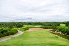 Golf field Stock Image