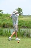 Golf Finish Royalty Free Stock Photos