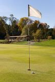 Golf flag 02 Stock Photos