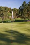 Golf flag 03 Stock Photos