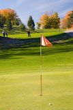 Golf flag 04.  Royalty Free Stock Photos