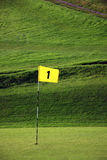 Golf Flag Stock Photos