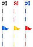 Golf Flags Stock Photos
