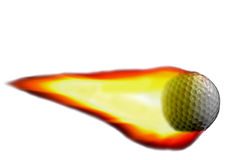 Golf flame Stock Images