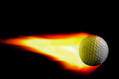 Golf flame stock illustration