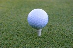 golf för 02 boll Arkivbild