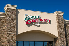 Golf Galaxy Retail Store Exterior and Logo