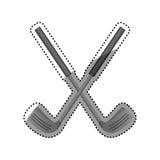 Golf game sport royalty free illustration