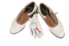 Golf Gear Royalty Free Stock Photography