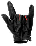 Golf glove. Show love symbol Stock Image