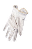 Golf glove on white background Stock Photo