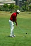 golf gracza Zdjęcia Royalty Free