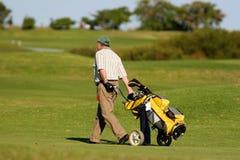golf gracza zdjęcie stock