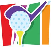 Golf Graphic Royalty Free Stock Image
