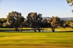 Golf. Great golf course in Mallorca Royalty Free Stock Photos