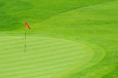 Golf Green Royalty Free Stock Photo
