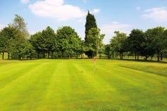 Golf green Stock Image