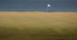 Golf Green Stock Photo
