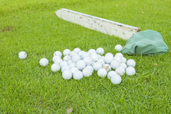 Golf on green tree in Thailand Stock Photos